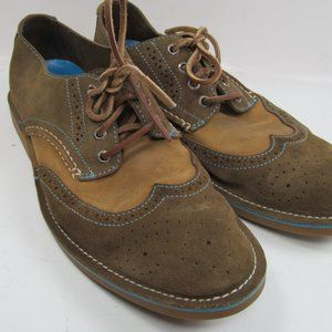 Sperry Topsider Mens Suede Wingtips 10 M